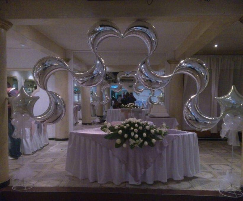 C mo usar globos en tu boda - Proveedores decoracion ...