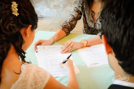 Pasos administrativos para la boda civil