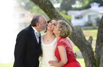 6 ideas para regalar algo especial a sus padres el día de la boda