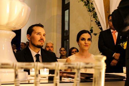 Desarrollo de la boda civil