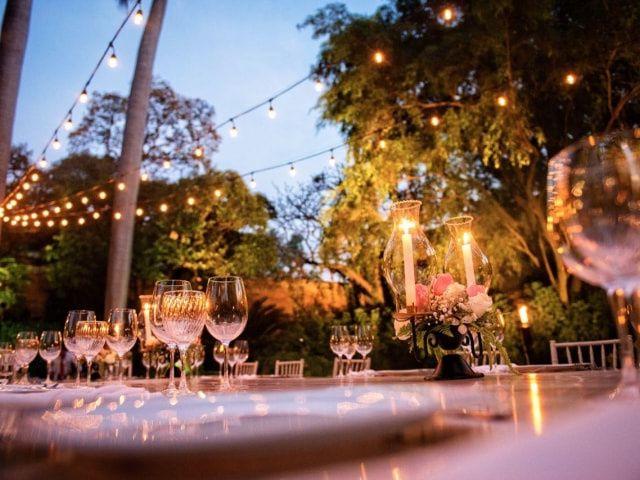 8 ideas para decorar una boda al aire libre