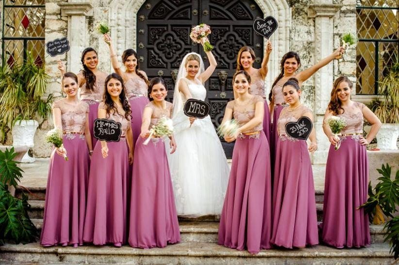 7a792b5c11 Dresscode para damas de honor - bodas.com.mx