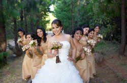 �Cu�ntas damas de honor puedes tener en tu boda?