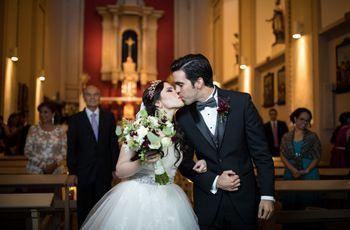Estructura de la ceremonia católica: paso a paso de la misa nupcial