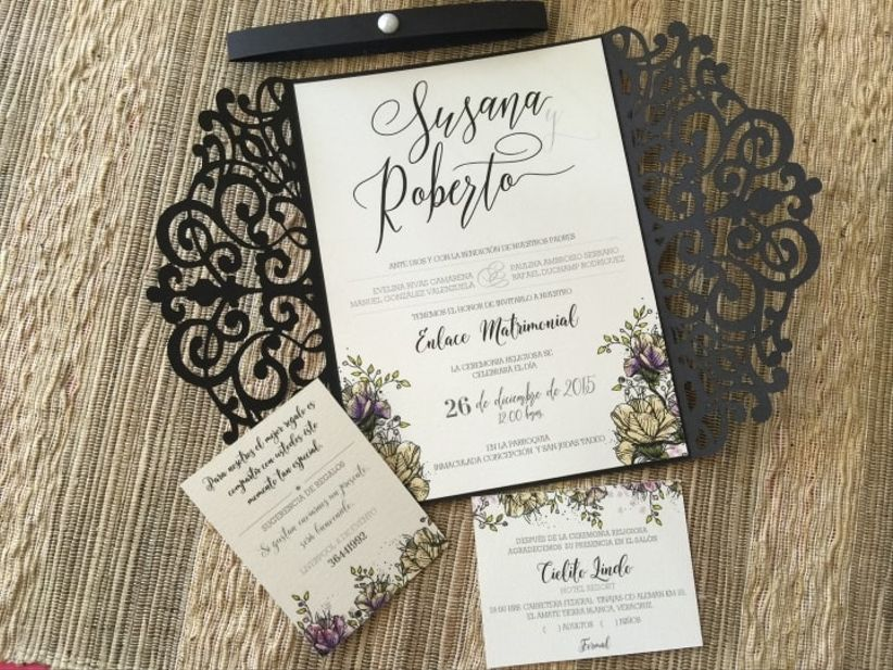 d859c4d31 30 invitaciones de boda elegantes  amor a primera vista - bodas.com.mx