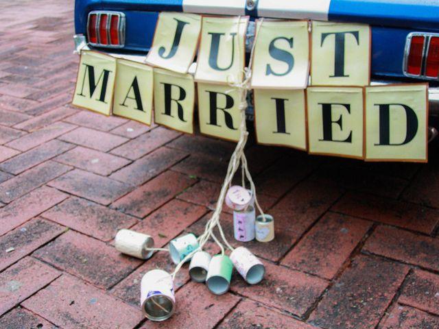 7 ideas para el letrero de recién casados