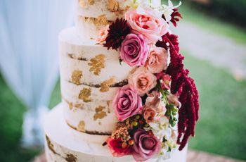 45 pasteles de boda elegantes y románticos, ¿cuál elegirán?