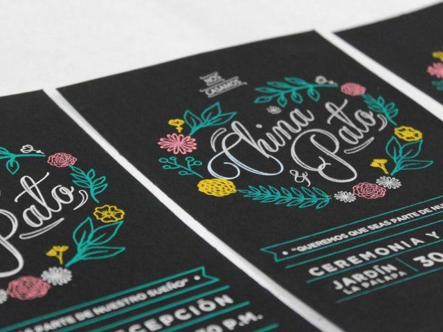 ¿Qué tipografías van con su boda? Descúbranlo en 3, 2, 1...
