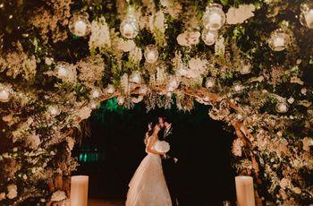 Tips para bodas de noche: magia hasta el amanecer
