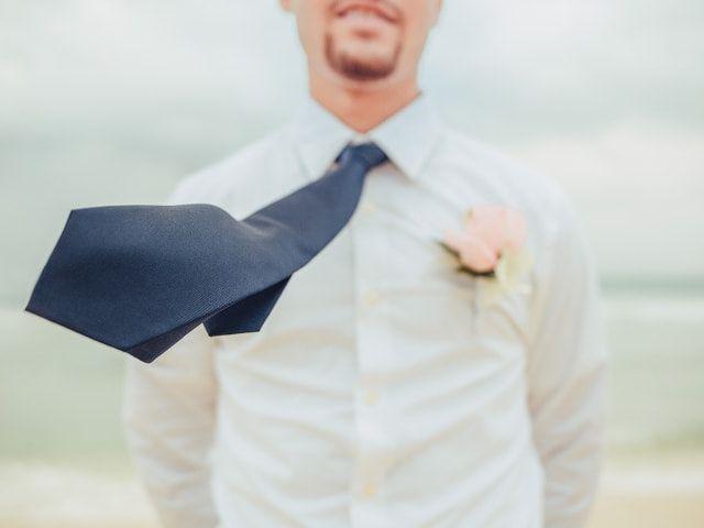 La corbata del novio: guía básica para acertar con la tuya