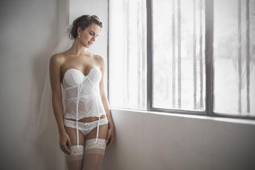 70a05617c8 Los 10 mandamientos de la lencería sexy para novia en 50 imágenes ...