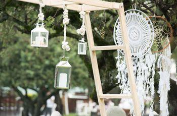 Decoración de boda sin flores: 5 magníficos sustitutos