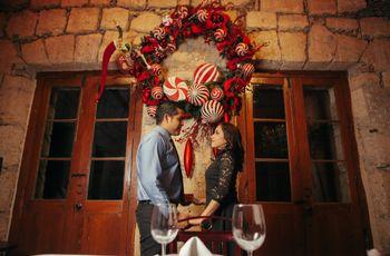 ¿Con quién pasarán la primera Navidad como marido y mujer?