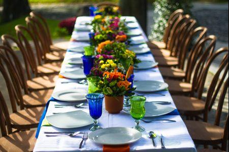Tipos de mesa para el banquete
