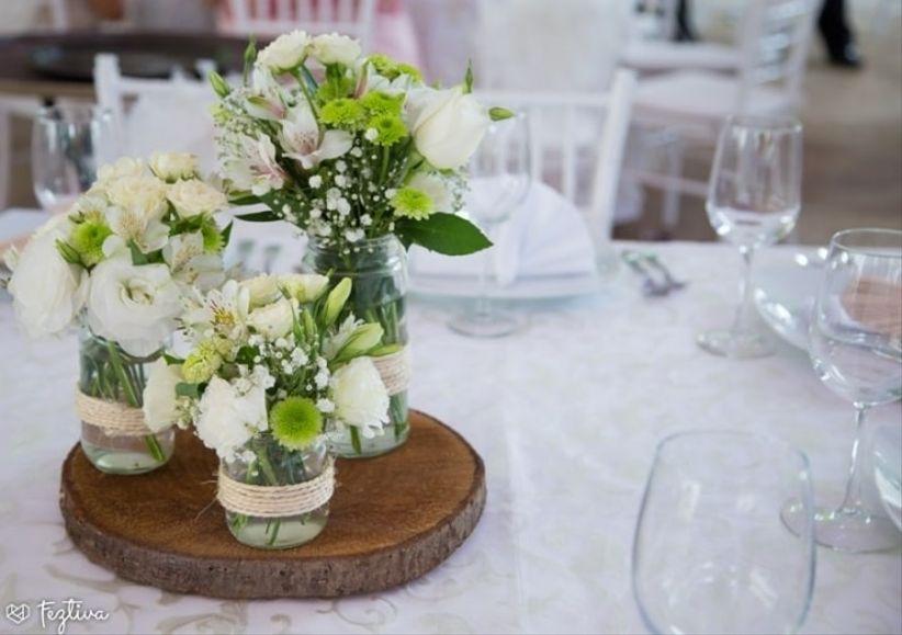 30 centros de mesa para boda sencillos ¡y encantadores! - bodas