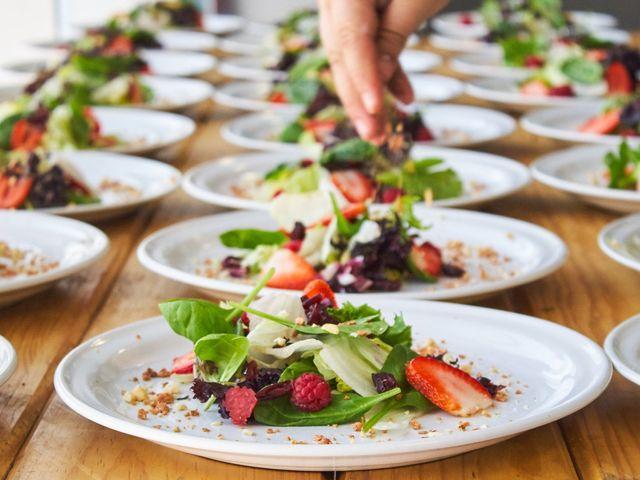 Ideas para un banquete de boda vegetariano muy gourmet