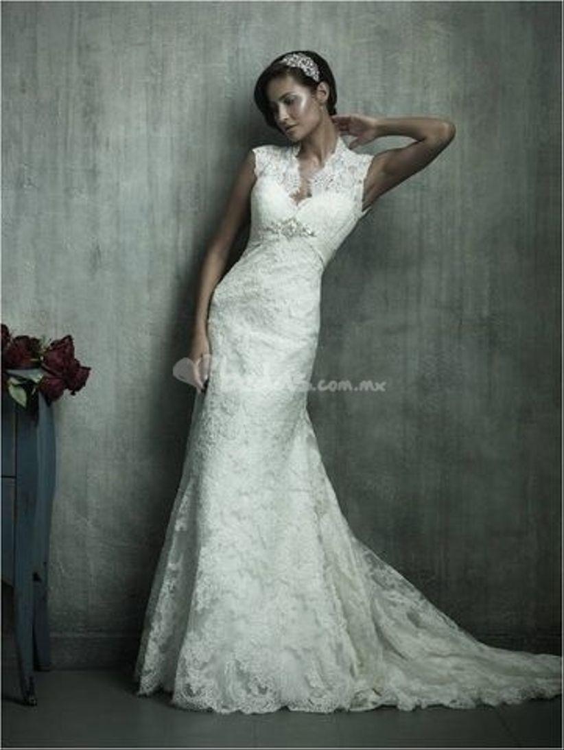 Vestidos de novia ideales para bajitas