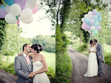 Decoraci�n con globos