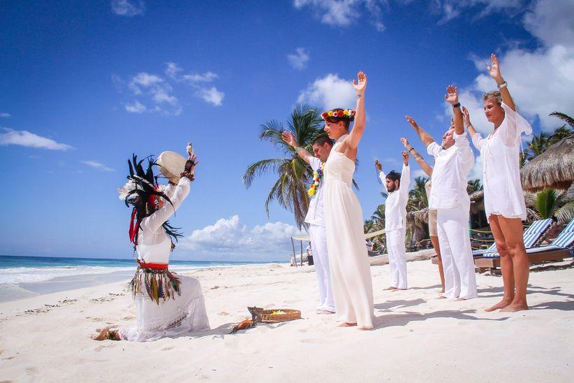 0fe3b66d2 Ceremonia maya  todo lo que deben saber de esta boda simbólica ...
