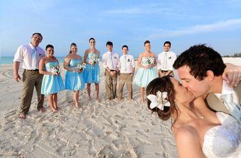 Look para invitadas a una boda en la playa
