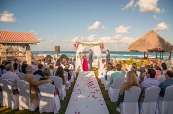 7 ventajas de casarse en un hotel: un práctico refugio para su boda