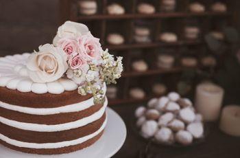 Pasteles de boda de chocolate: ¿más dulces o más intensos?