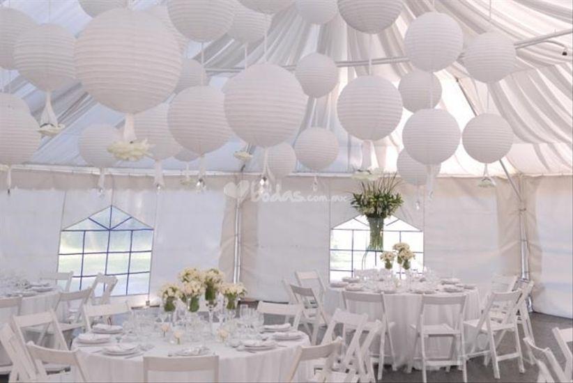 Rentar una carpa para su boda - Decoracion de carpas para bodas ...