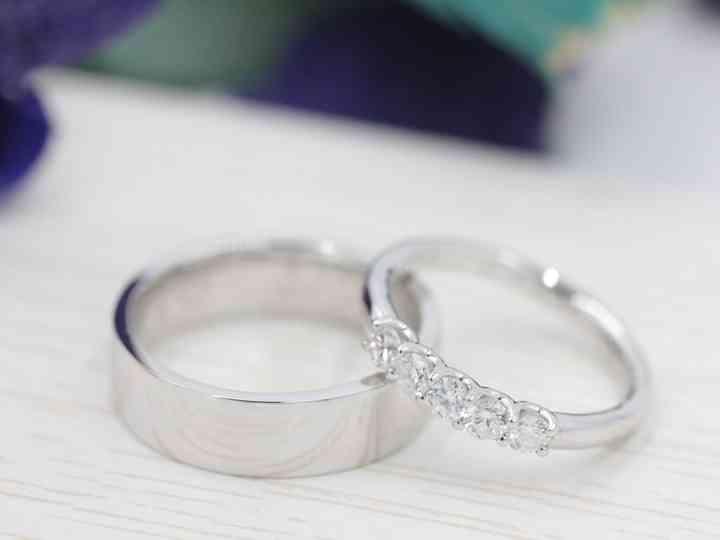 70 alianzas de oro blanco: ¿cuáles imaginan en sus dedos? - bodas ...