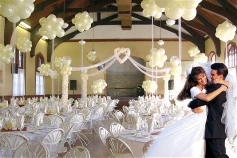Como Usar Globos En Tu Boda Bodascommx - Adornos-con-globos-para-bodas