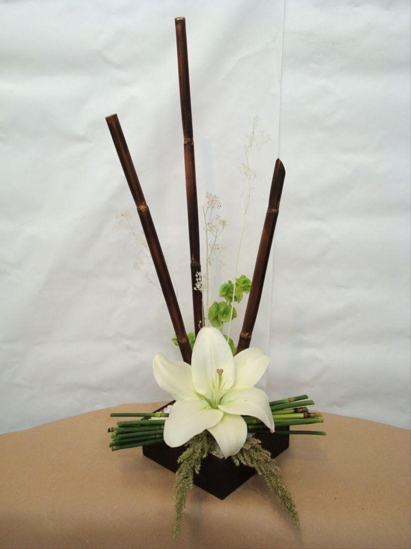Arreglos de mesa con bambu eligiendo f 225 cil los centros for Bambu seco para decoracion