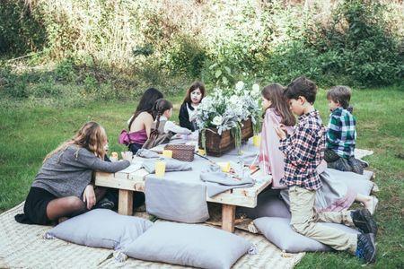 ¡Niños, a la mesa! Grandes ideas para pequeños comensales en su boda