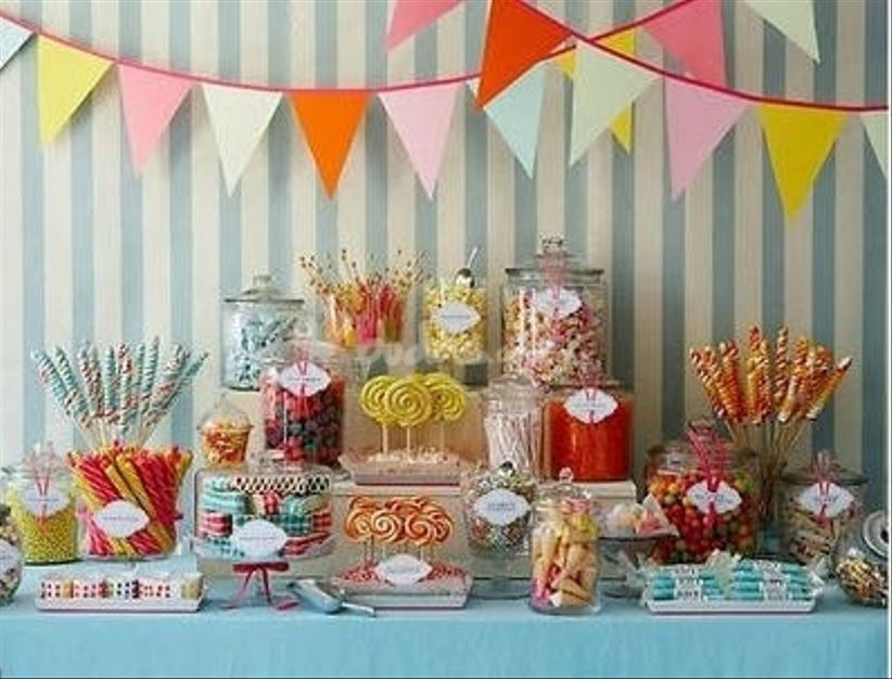 Ideas Para Decorar Una Mesa De Dulces