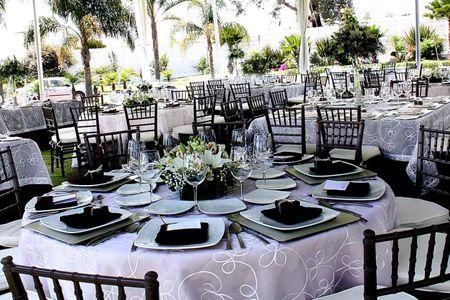 Cómo decorar mesas de boda redondas