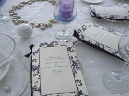 El programa de la boda