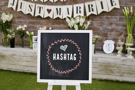 El hashtag perfecto para tu boda