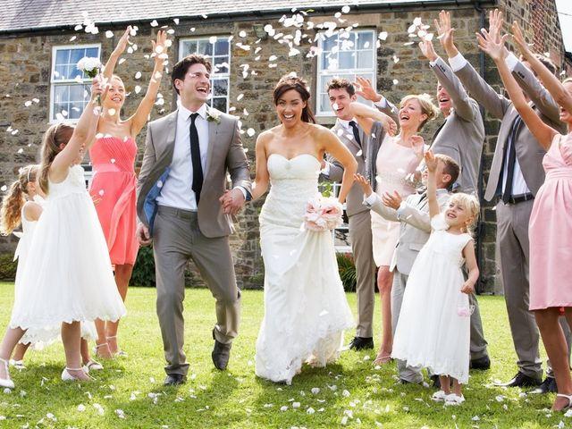 El rol de los pajes y damas de honor en la boda