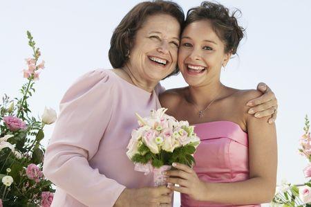 Look ideal para la abuelita de la novia