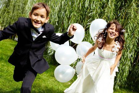 Ni�os en la boda