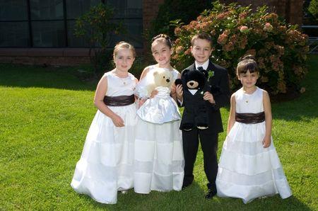 El look de los pajecitos de boda