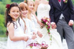 Pajecitos en la boda