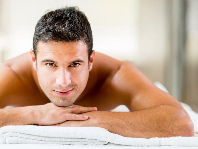 Tratamiento facial para el novio