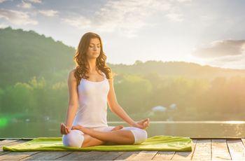 ¿Nerviosa? ¡Practica Yoga antes de la boda!