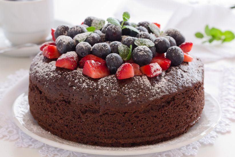 Mini Flourless Chocolate Cake
