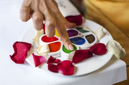 Los colores para las bodas