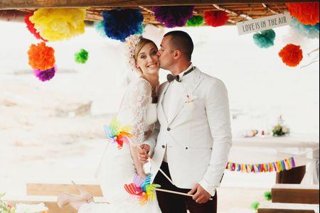Cómo elegir los colores de tu boda