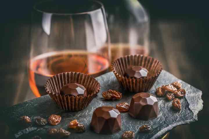 como chocolate por la noche