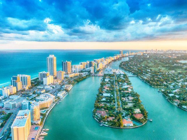 Luna de miel en Miami: un destino internacional a buen precio