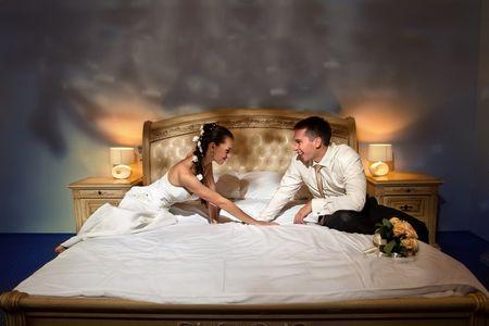 Cómo preparar la noche de bodas