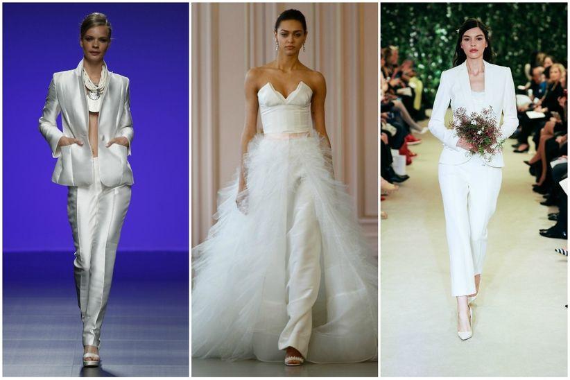 297ae129b Vestidos de novia dos piezas - bodas.com.mx