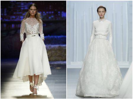 Vestidos de novia dos piezas